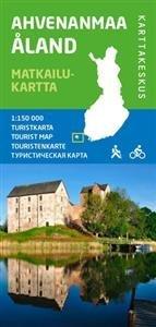 Ahvenanmaa matkailukartta