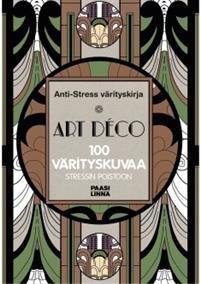 Anti-Stress värityskirja Art Deco