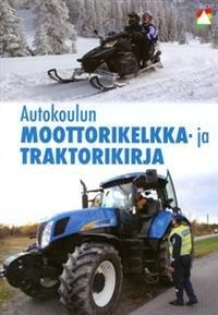 Autokoulun moottorikelkka- ja traktorikirja