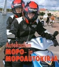 Autokoulun mopo- ja mopoautokirja