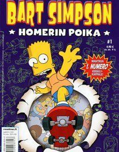 Bart Simpson - Homerin poika