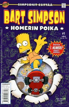 Bart Simpson - Homerin poika