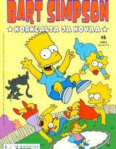 Bart Simpson - Korkealta ja kovaa