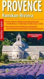 Etelä-Provece ja Ranskan Riviera kartta + opas
