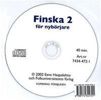Finska för nybörjare 2 cd audio