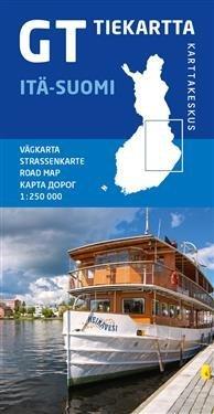 GT tiekartta Itä-Suomi 1 : 250 000