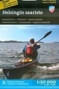 Helsingin saaristo vesistökartta 1: 50 000