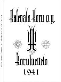 Kalevala Korun koruluettelo vuodelta 1941