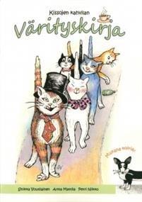 Kissojen kahvilan värityskirja