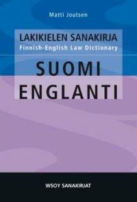 Lakikielen sanakirja suomi-englanti
