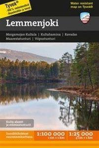 Lemmenjoki tunturikartta 1:100 000/1:25 000