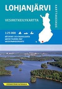 Lohjanjärvi 1:25 000 vesiretkeilykartta