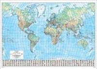 Maailma seinäkartta