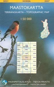 Maastokartta S531 Hossa 1:50000