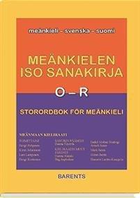Meänkielen iso sanakirja III - Storordbok för meänkieli