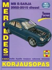 Mercedes-Benz E-sarja diesel 2002-2010