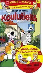 Miinan ja Manun cd-satuaarteet 24 (2 kirjaa + cd)