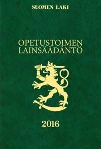 Opetustoimen lainsäädäntö 2016