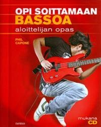 Opi soittamaan bassoa (+cd)