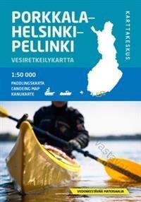 Porkkala-Helsinki-Pellinki vesiretkeilykartta
