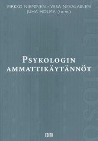 Psykologin ammattikäytännöt