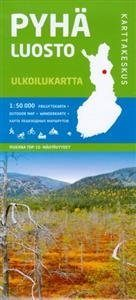 Pyhä- Luosto 1:50 000 ulkoilukartta