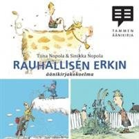 Rauhallisen Erkin äänikirja (cd)