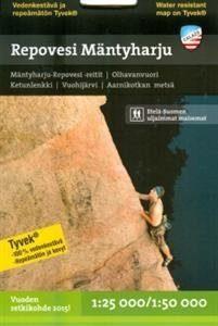 Repovesi-Mäntyharju retkeilykartta