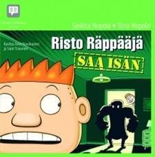 Risto Räppääjä saa isän (2 cd)