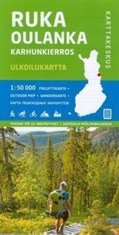 Ruka-Oulanka-Karhunkierros 1:50 000 ulkoilukartta