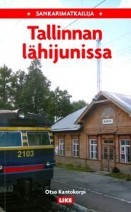 Sankarimatkailija Tallinnan lähijunissa