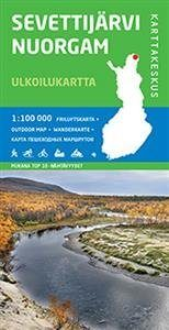 Sevettijärvi-Nuorgam ulkoilukartta
