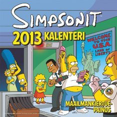Simpsonit -seinäkalenteri 2013
