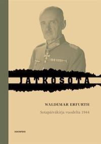 Sotapäiväkirja vuodelta 1944