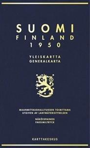 Suomi Finland 1950 (näköispainos)