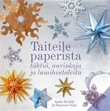 Taiteile paperista tähtiä