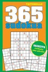 Taitureille 365 sudokua