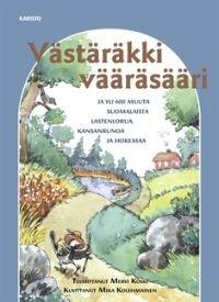 Västäräkki vääräsääri ja yli 600 muuta suomalaista lastenlorua