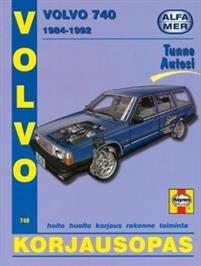 Volvo 740 bensiini ja dieselmoottorit 1984-1992